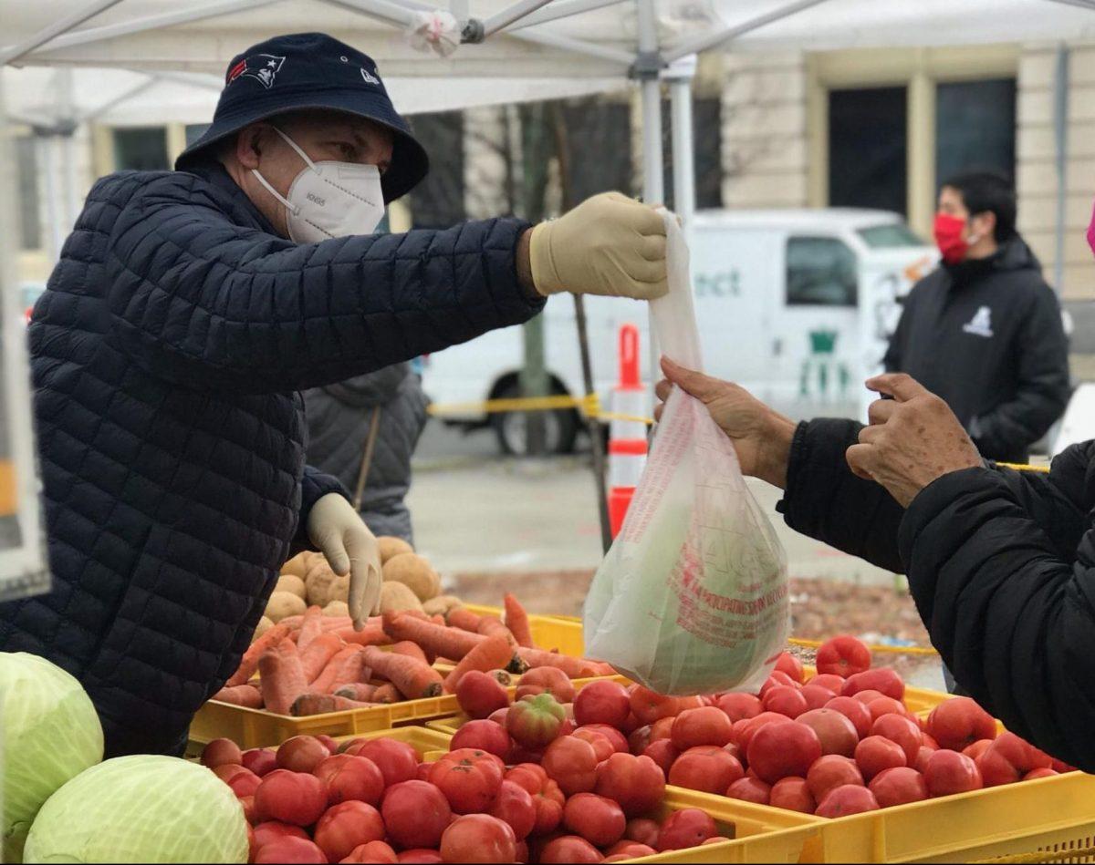 Farmer's Market in Lynn, MA